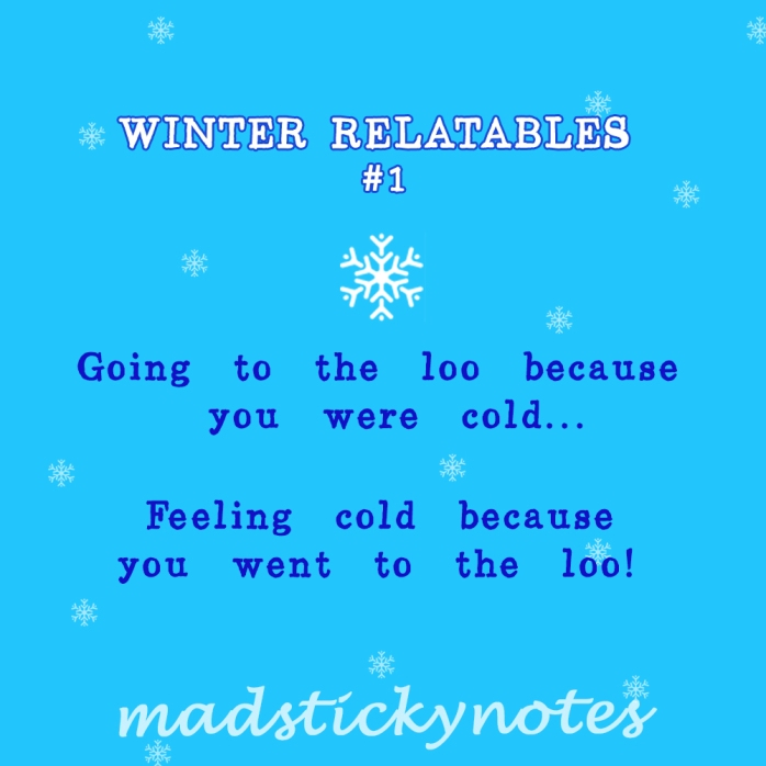 Winter Relatables 1
