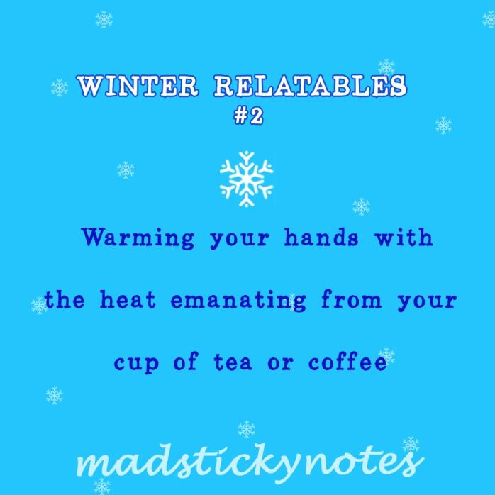 Winter Relatables 2